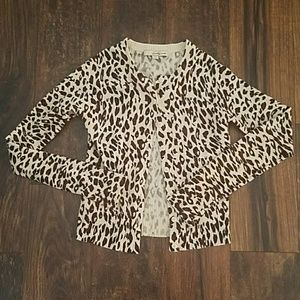 Forever 21 Sweaters - Leopard Cardigan